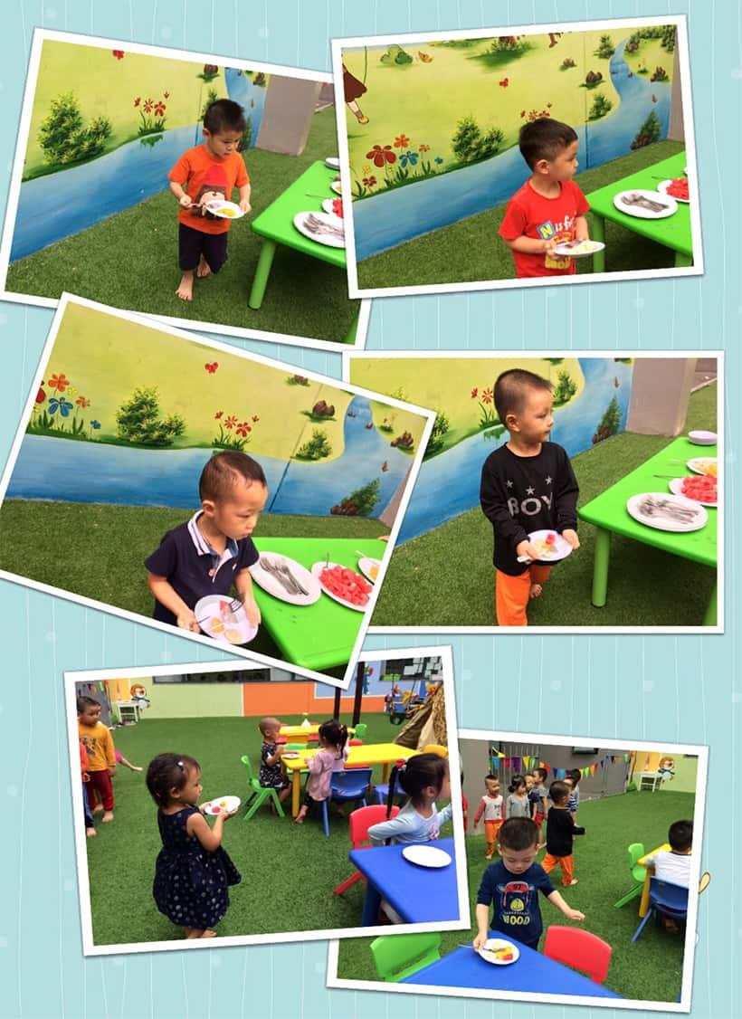 Hanoi Academy chú trọng phát triển kỹ năng tự phục vụ cho bé mẫu giáo 3 -4 tuổi