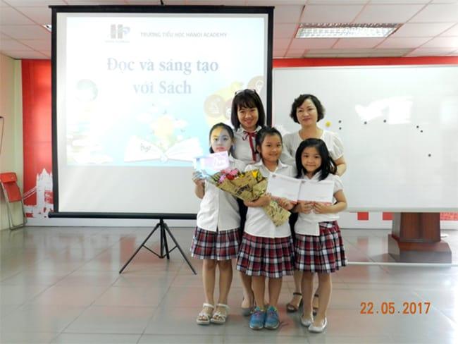 Học sinh Tiểu học hào hứng giới thiệu cuốn sách em yêu