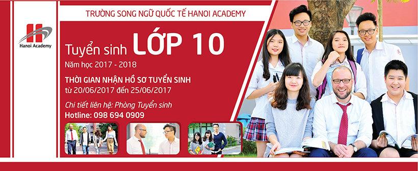 Thông báo tuyển sinh lớp 10 năm học 2017 – 2018