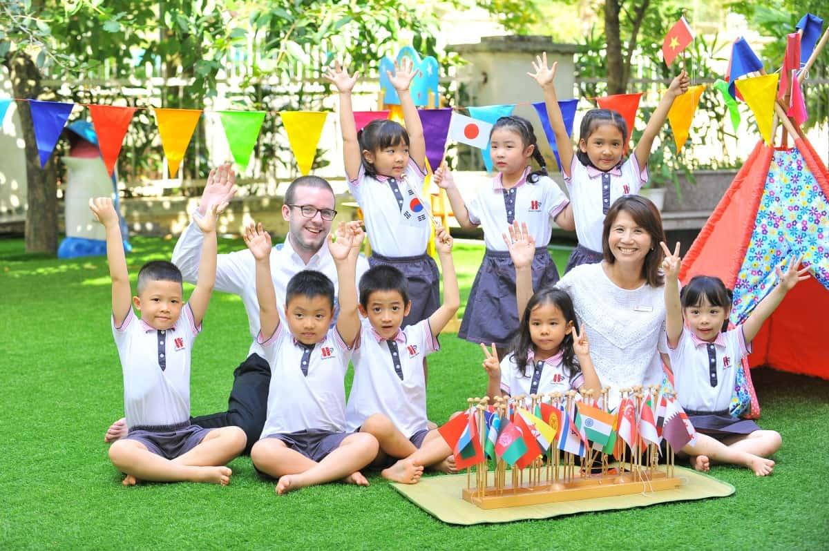 chon-truong-mam-non-cho-be Kinh nghiệm dạy kỹ năng giao tiếp cho trẻ em