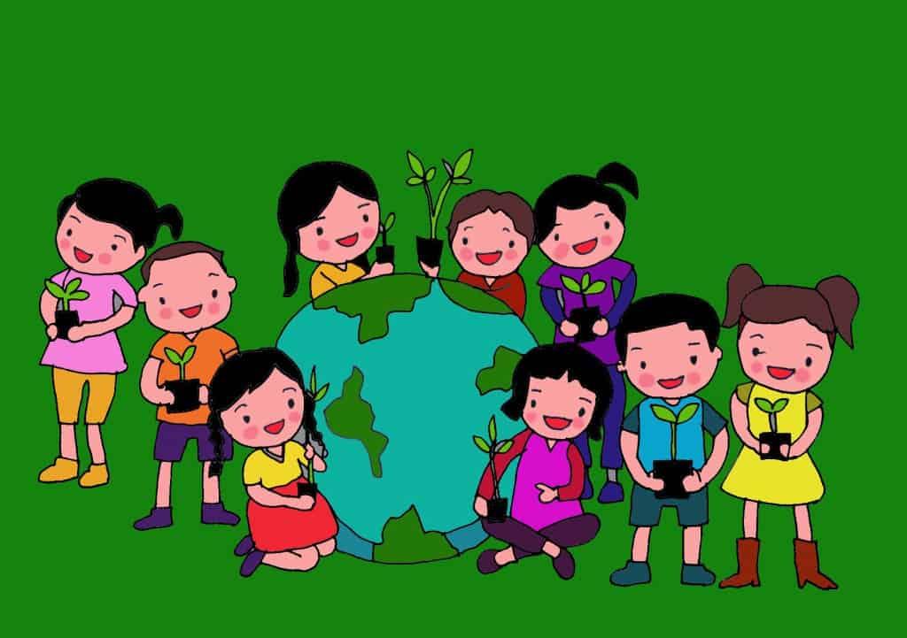 giao-duc-moi-truong-cho-be Trường mầm non tại Hà Nội, quá tải không chỉ ở nội thành