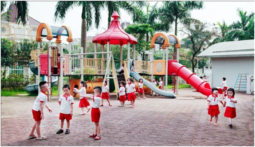 cac-truong-mam-non-song-ngu-2 Giải pháp phát triển kỹ năng giao tiếp cho trẻ mầm non