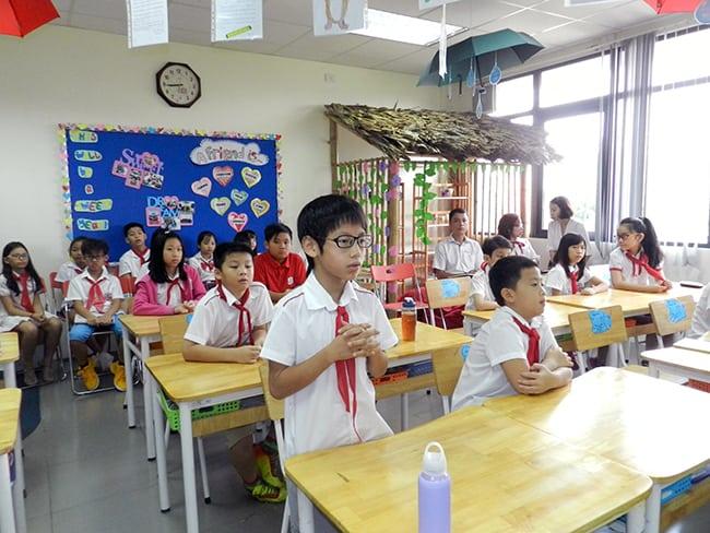 Đại hội chi đội trường Tiểu học Hanoi Academy năm học 2017 – 2018