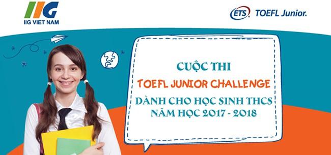 Danh sách học sinh tham dự cuộc thi Toefl Junior Challenge 2017 – 2018