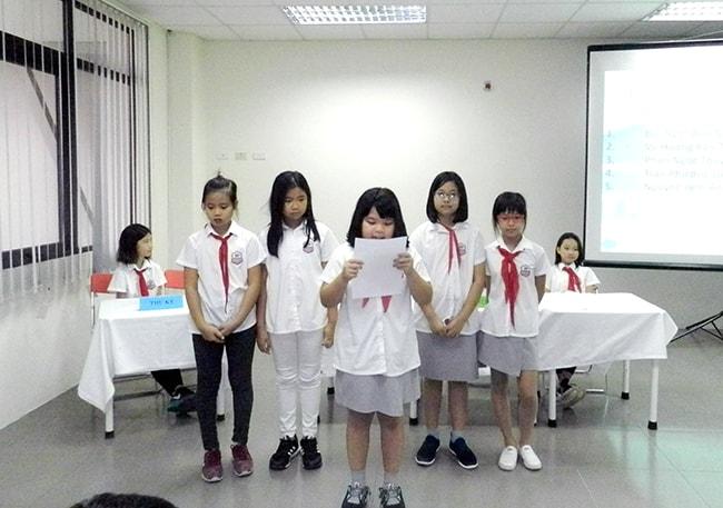 Đại hội Liên đội Tiểu học Hanoi Academy năm học 2017 – 2018