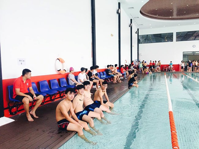 Giải bơi lần thứ 7: Cơ thể khỏe – Trí tuệ sáng