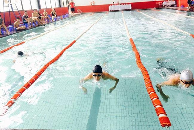 giải bơi Giải bơi lần thứ 7: Cơ thể khỏe – Trí tuệ sáng