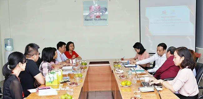 Trường Hanoi Academy tiếp đoàn đại biểu Đại học Khoa học và Kỹ thuật Quốc gia Pingtung, Đài Loan