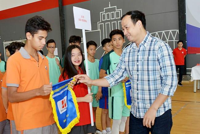 Giải bóng đá giao hữu giữa các trường Song ngữ Quốc tế tại Hà Nội