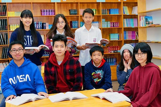 Các em học sinh Hanoi Academy chuẩn bị sẵn sàng cho cuộc thi TOEFL Junior 9 HỌC SINH THCS HANOI ACADEMY LỌT VÒNG 3 CUỘC THI TOEFL JUNIOR CẤP QUỐC GIA