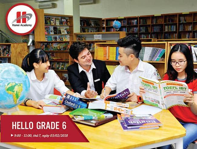 Hello Grade 6 - Trải nghiệm môi trường học tập sáng tạo tại Hanoi Academy Hello Grade 6 – Trải nghiệm môi trường học tập sáng tạo tại Hanoi Academy