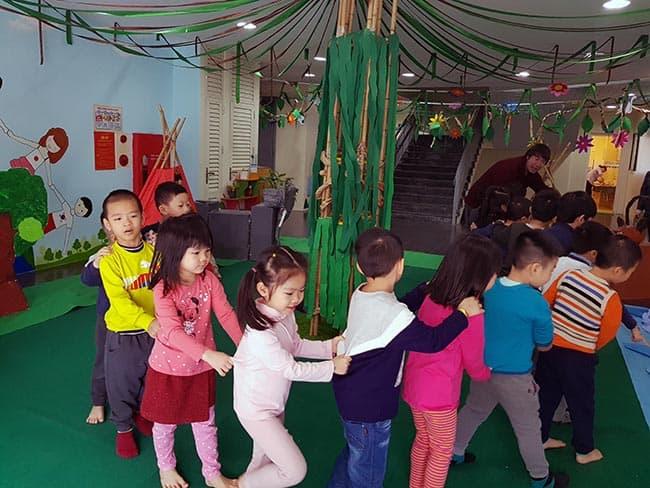 Môi trường học tập đầy sáng tạo tại trường Mầm non Hanoi Academy