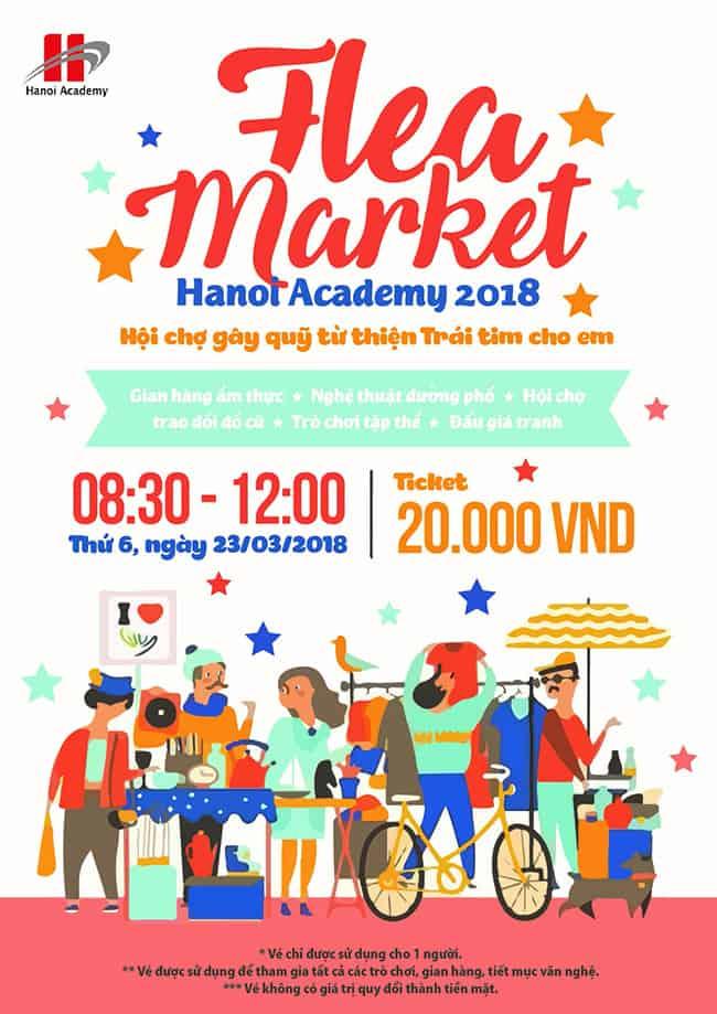 Chợ phiên Hanoi Academy 2018