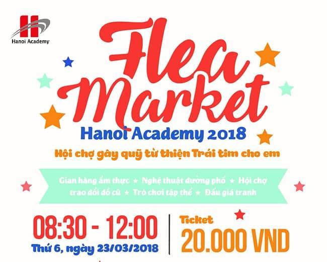 Chợ phiên Hanoi Academy 2018 Trang chủ