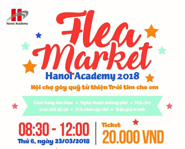 Flea Market Hanoi Academy 2018 Home