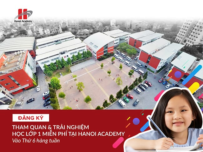 Chương trình tham quan và trải nghiệm lớp 1 tại Hanoi Academy