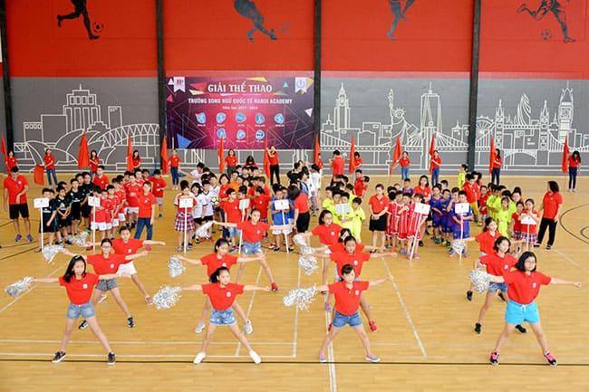 Tuần lễ thể thao Tiểu học năm học 2017-2018