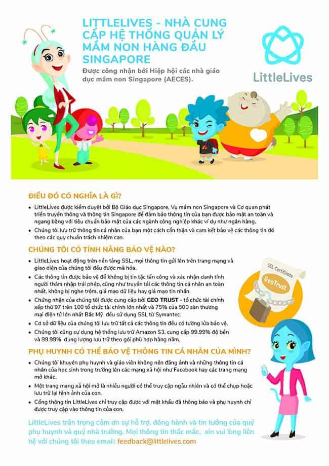 LittleLives – Phần mềm quản lý trường mầm non LittleLives – Phần mềm quản lý trường mầm non