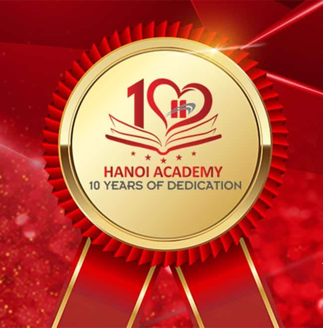Cùng chờ đón sự kiện Hanoi Academy chào năm học thứ 10! Trang chủ