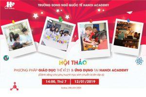 Hội thảo: Phương pháp giáo dục thế kỉ 21 và ứng dụng tại Hanoi Academy
