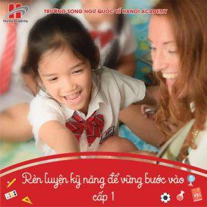 """""""Hành trang vào lớp 1""""- Hanoi Academy-2 """"Hành trang vào lớp 1""""- Khóa học chuẩn bị cho năm học mới 2019 – 2020"""