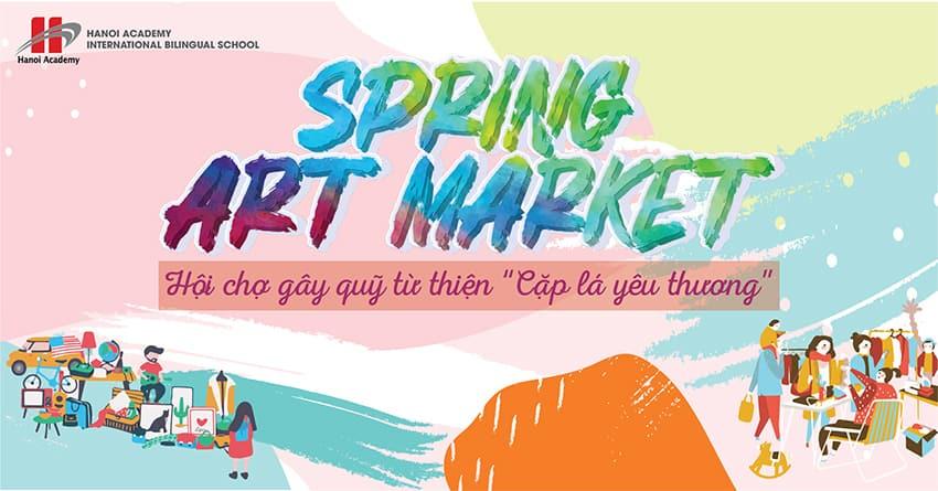 Thư mời tài trợ sự kiện Hanoi Academy Spring Art Market 2019 Thư mời tài trợ sự kiện Hanoi Academy Spring Art Market 2019