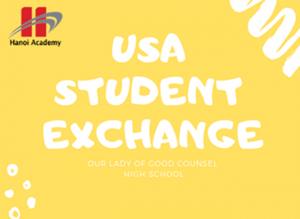 Chương trình trao đổi học sinh Hanoi Academy và trường Good Counsel High School – Mỹ