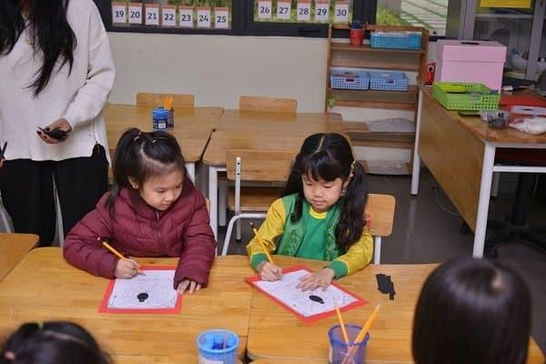 trường mầm non tốt quận tây hồ 3 Trường mầm non tốt quận Tây Hồ Hà Nội Academy đồng hành cùng con bước ra thế giới
