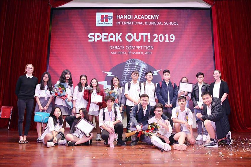 Vòng chung kết cuộc thi HANOI ACADEMY'S SPEAK OUT 2019! Vòng chung kết cuộc thi HANOI ACADEMY'S SPEAK OUT 2019!
