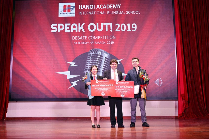 Vòng chung kết cuộc thi HANOI ACADEMY'S SPEAK OUT 2019!