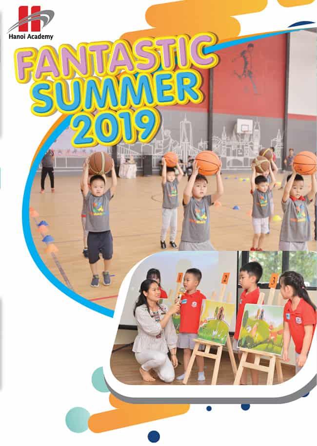 """Khóa học hè """"Fantastic summer 2019"""" dành cho trẻ từ 2-5 tuổi Khóa học hè """"Fantastic summer 2019"""" dành cho trẻ từ 2-5 tuổi"""