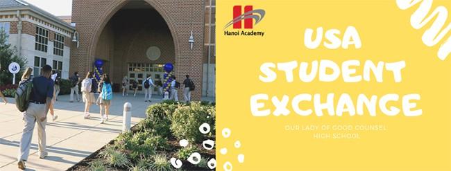Chúc mừng 6 bạn học sinh Hanoi Academy đã trúng tuyển chương trình giao lưu văn hóa tại Mỹ Chúc mừng 6 bạn học sinh Hanoi Academy đã trúng tuyển chương trình giao lưu văn hóa tại Mỹ