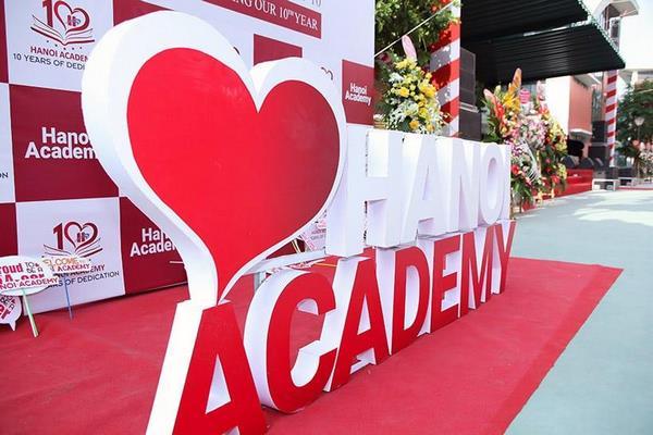 trường quốc tế anh việt 1 Thông điệp yêu thương từ trường quốc tế Anh Việt Hanoi Academy