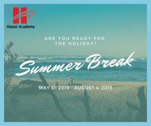 Thông báo lịch nghỉ hè 2019 và Ngày khai trường năm học mới 2019 – 2020