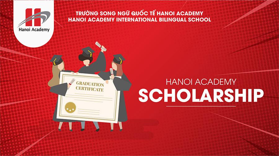 Học bổng trường Song ngữ Quốc tế Hanoi Academy năm học 2018 - 2019 Học bổng trường Song ngữ Quốc tế Hanoi Academy năm học 2018 – 2019