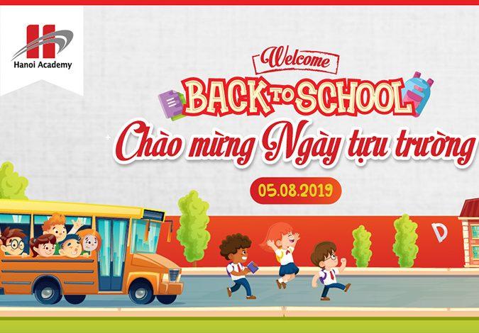 Welcome back to school: Chào mừng ngày tựu trường năm học 2019 - 2020 Welcome back to school: Chào mừng ngày tựu trường năm học 2019 – 2020