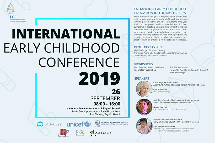 Hội thảo mầm non quốc tế ICE 2019 Hội thảo mầm non quốc tế ICE 2019