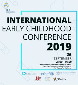 Hội thảo mầm non quốc tế ICE 2019