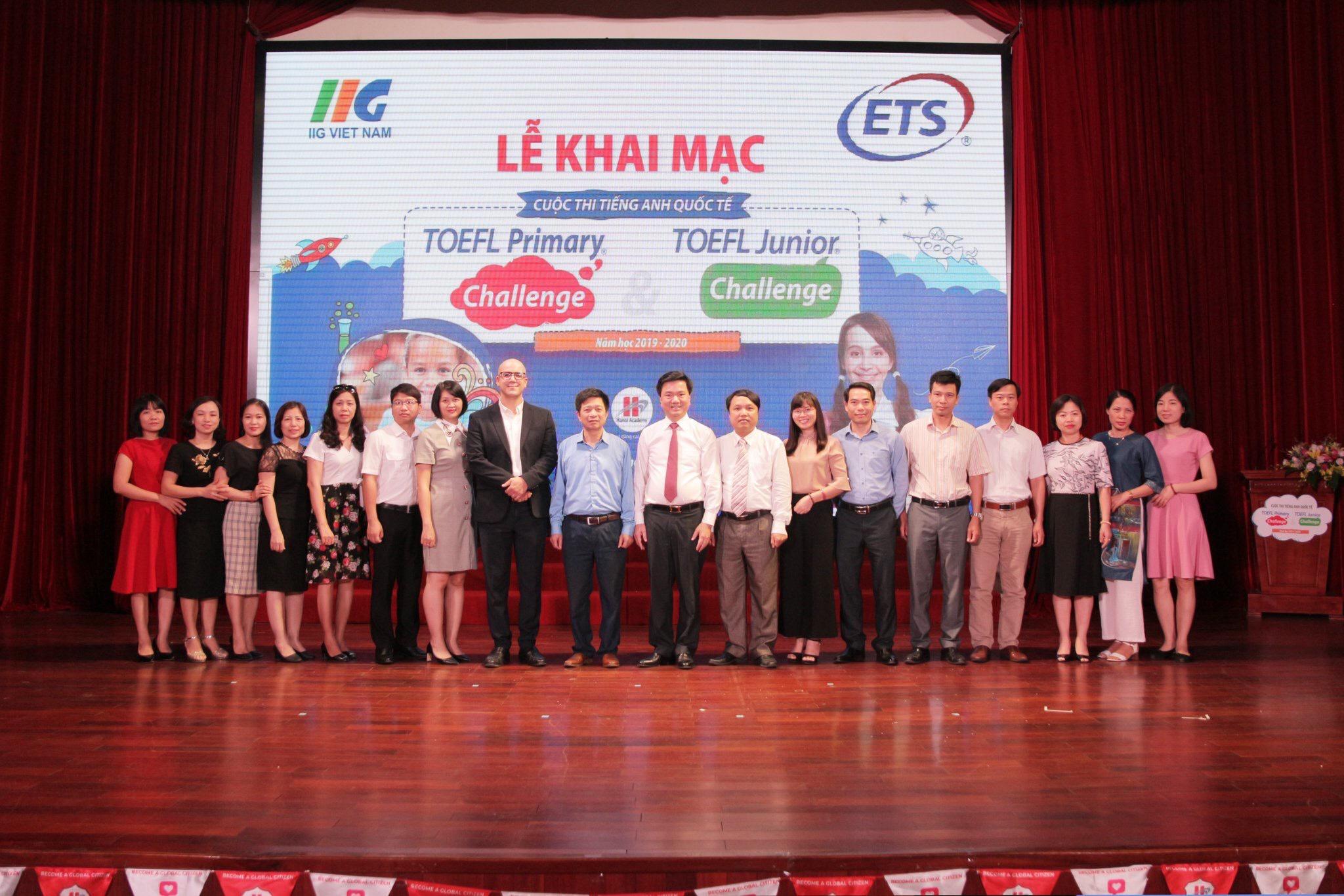 Lễ khai mạc và Vòng 1 cuộc thi tiếng Anh quốc tế TOEFL Challenge 2019-2020