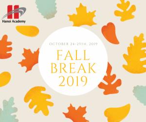 Thông báo lịch nghỉ Thu năm học 2019-2020