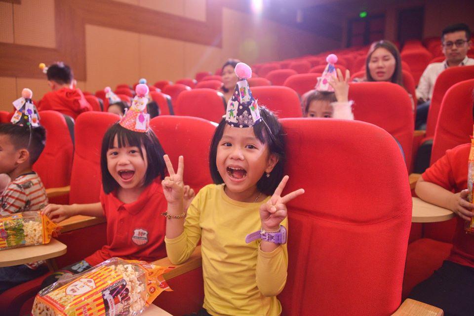 Chương trình xem xiếc khối 1 Hanoi Academy