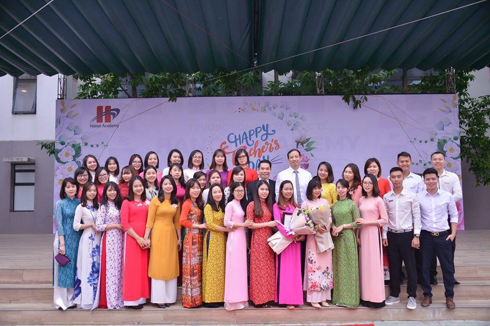 Lễ kỷ niệm ngày nhà giáo Việt Nam 20/11 Hanoi Academy Lễ kỷ niệm ngày nhà giáo Việt Nam 20/11