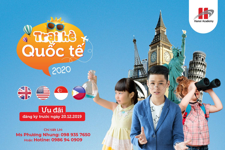 Chương trình trại hè quốc tế 2020 Hanoi Academy Chương trình trại hè quốc tế 2020 Hanoi Academy