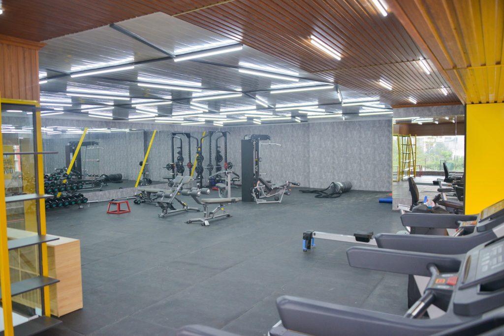 máy móc hiện đại tại phòng Gym trường hanoi academy Có điều gì mới tại Hanoi Academy (Cập nhật 30/3/2020)