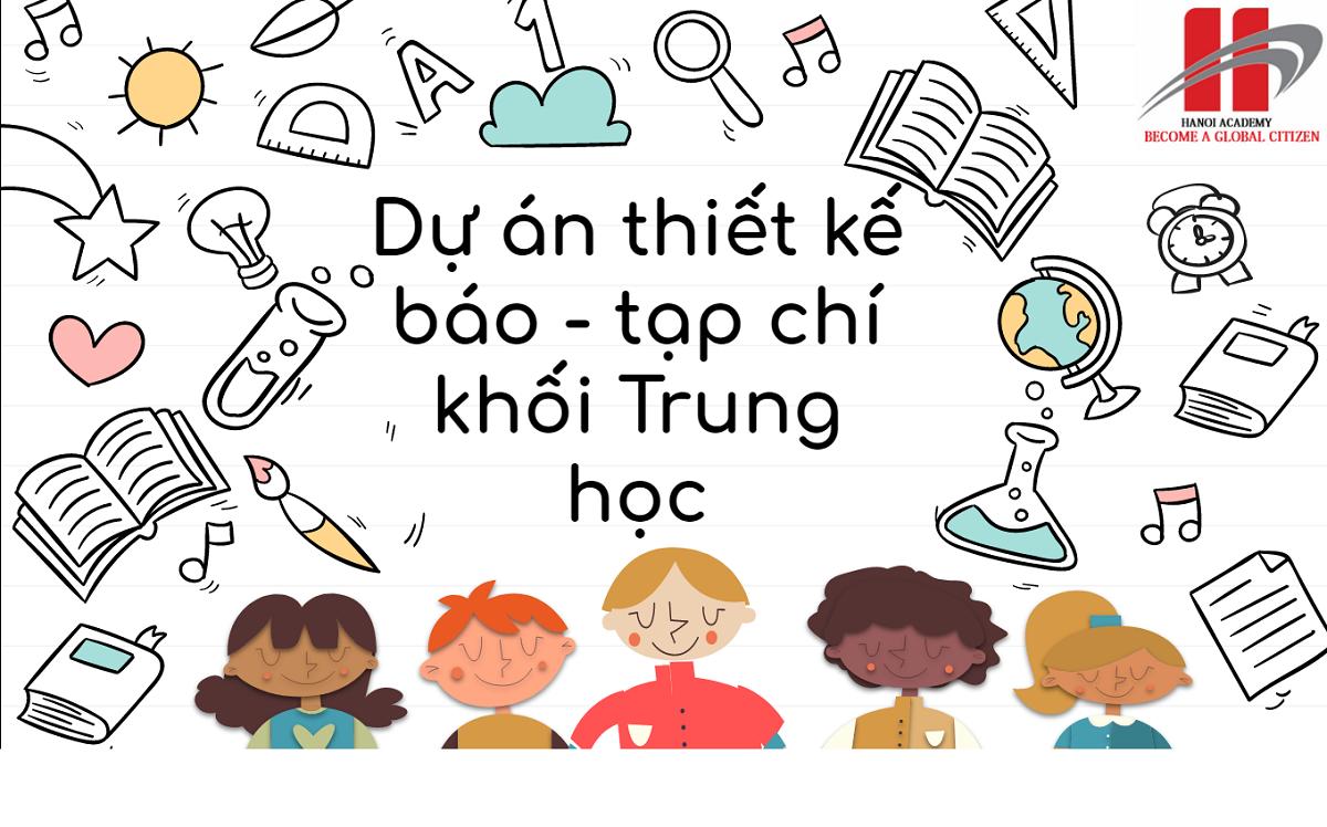 Dự án thiết kế báo – tạp chí khối Trung học Trang chủ