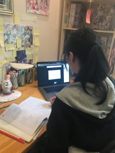 Học trực tuyến qua góc nhìn của học sinh Hanoi Academy