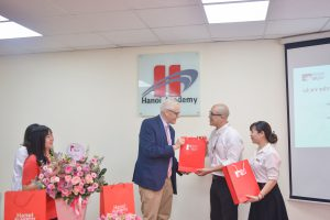 The Signing Ceremony between Hanoi Academy & British University Vietnam
