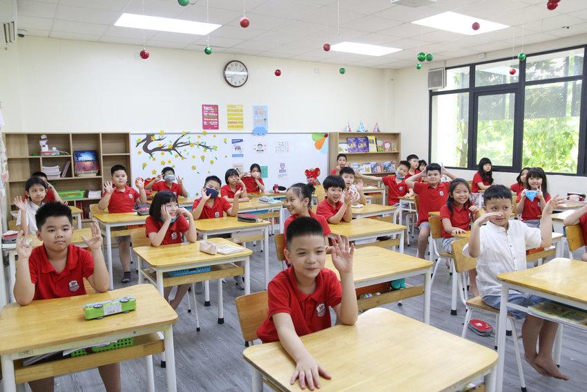 Háo hức trong ngày đầu hội ngộ của các Acers khối Tiểu học sau 3 tháng nghỉ dịch