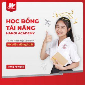 Học bổng tài năng Hanoi Academy