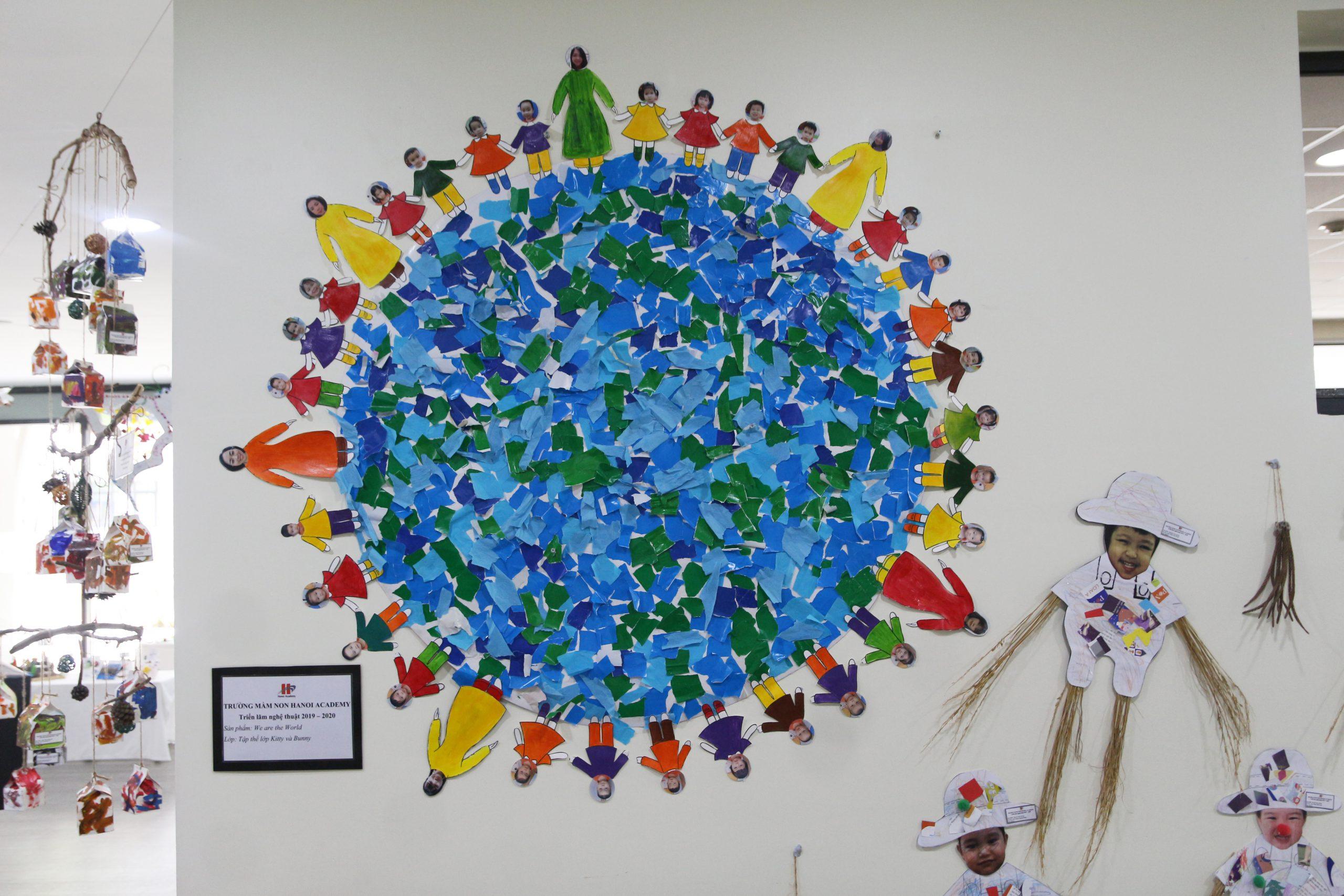 Triển lãm nghệ thuật 2020 tại trường mầm non Hanoi Academy